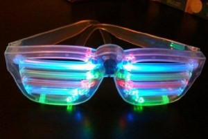 LED Horizontal Bar Sunglasses