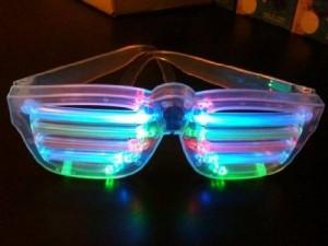 LED Horizontal Bar Sunglasses