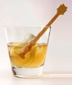 Acoustic Guitar Ice Cube Tray