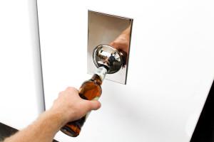 Beer Opener Fridge Magnet