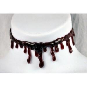 Blood Drip Halloween Choker