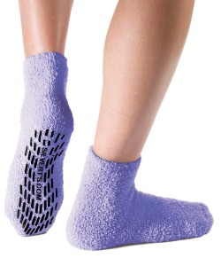 Blue Hospital Socks