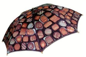 Boxed Chocolate Umbrella