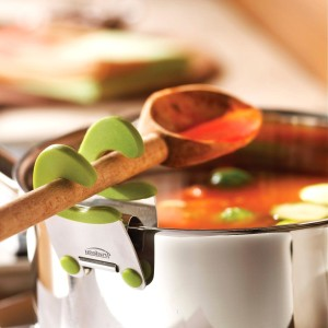 Clip on Pot Spoon Holder