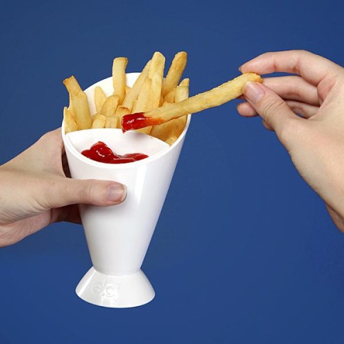 French Fry Dipping Cup