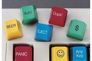 Funny Computer Key Caps