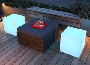 Glow Cube Furniture