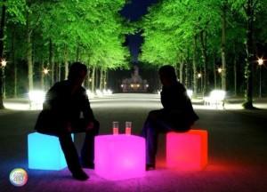 Glow Cube Seats