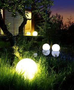 Glowing Garden Orbs