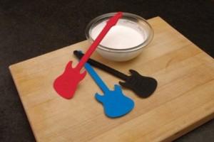 Guitar Baking Spatula