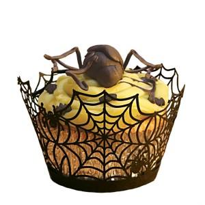 Halloween Spider Cupcake Wrapper