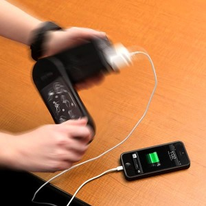 Hand Powered iPhone Charger