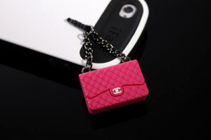 Handbag iPhone Dust Plug