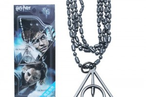 Harry Potter Deathly Hallows Necklace Prop Replica