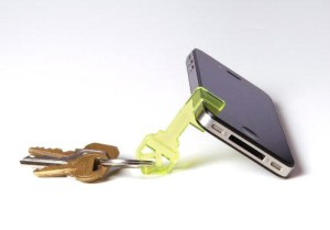 iKey Key Ring iPhone Stand