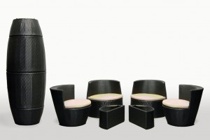 Interlocking Stackable Furniture