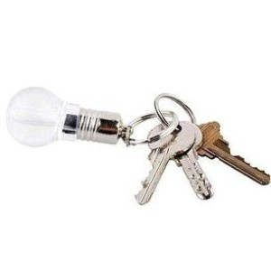 Key Ring Light Bulb Flash Drive