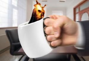 Knuckle Duster Coffee Mug