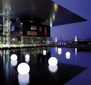 LED Light Pool Glow Balls