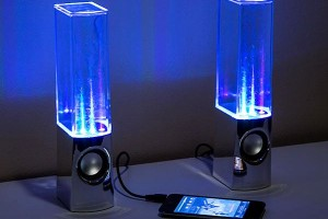 Light Fountain Speakers