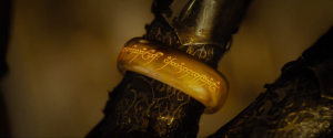 Lord of the Rings Sauron's One Ring