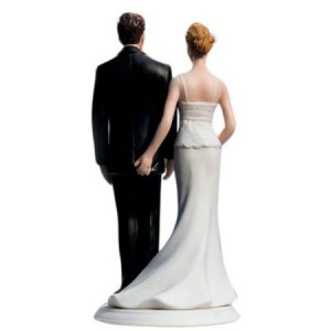 Love Pinch Wedding Cake Topper