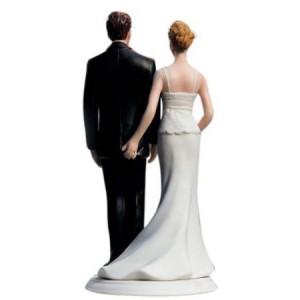 Love Pinch Wedding Cake Topper