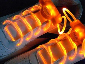 Orange LED Light Shoes