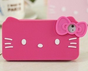 Pink iPhone 4 Hello Kitty Case