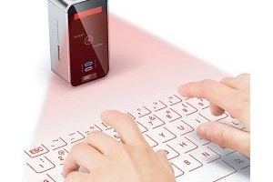 Projected Virtual Keyboard