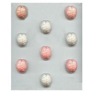 Small Brain Candy Molds