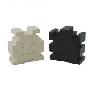 Space Invaders Salt and Pepper Shakers