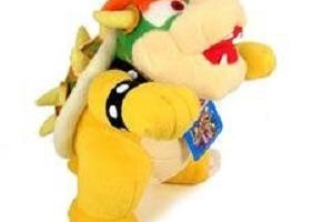 Super Mario Brothers Bowser Plushie