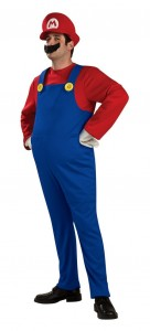 Super Mario Brothers Mario Costume