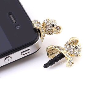 Teddy Bear iPhone Plug