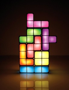 Tetris Block lamp
