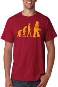 Sheldon's Robot Evolution T-Shirt from The Big Bang Theory
