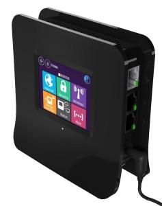 Touchscreen Wireless Router
