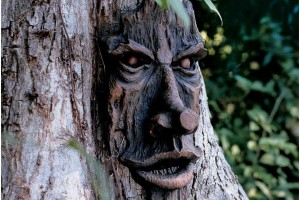 Tree Face Plaque