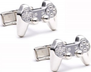 Two Silver PlayStation Cufflinks