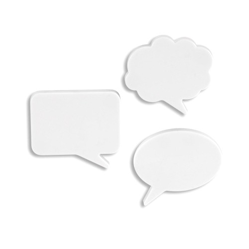 Writable Speech Bubble Magnets