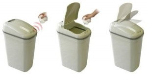 Automatic Open Trash Can