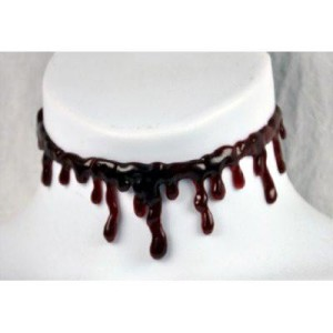Blood Drip Halloween Choker