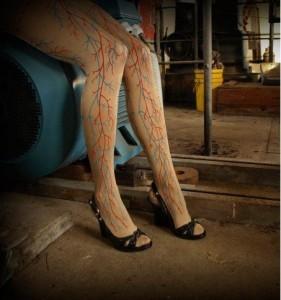 Blood Vessel Leggings