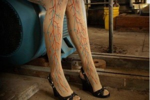 Blood Vessel Leggings