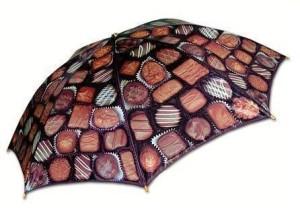 Boxed Chocolate Umbrella