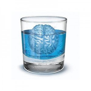 Brain Shaped Ice Cube Tray