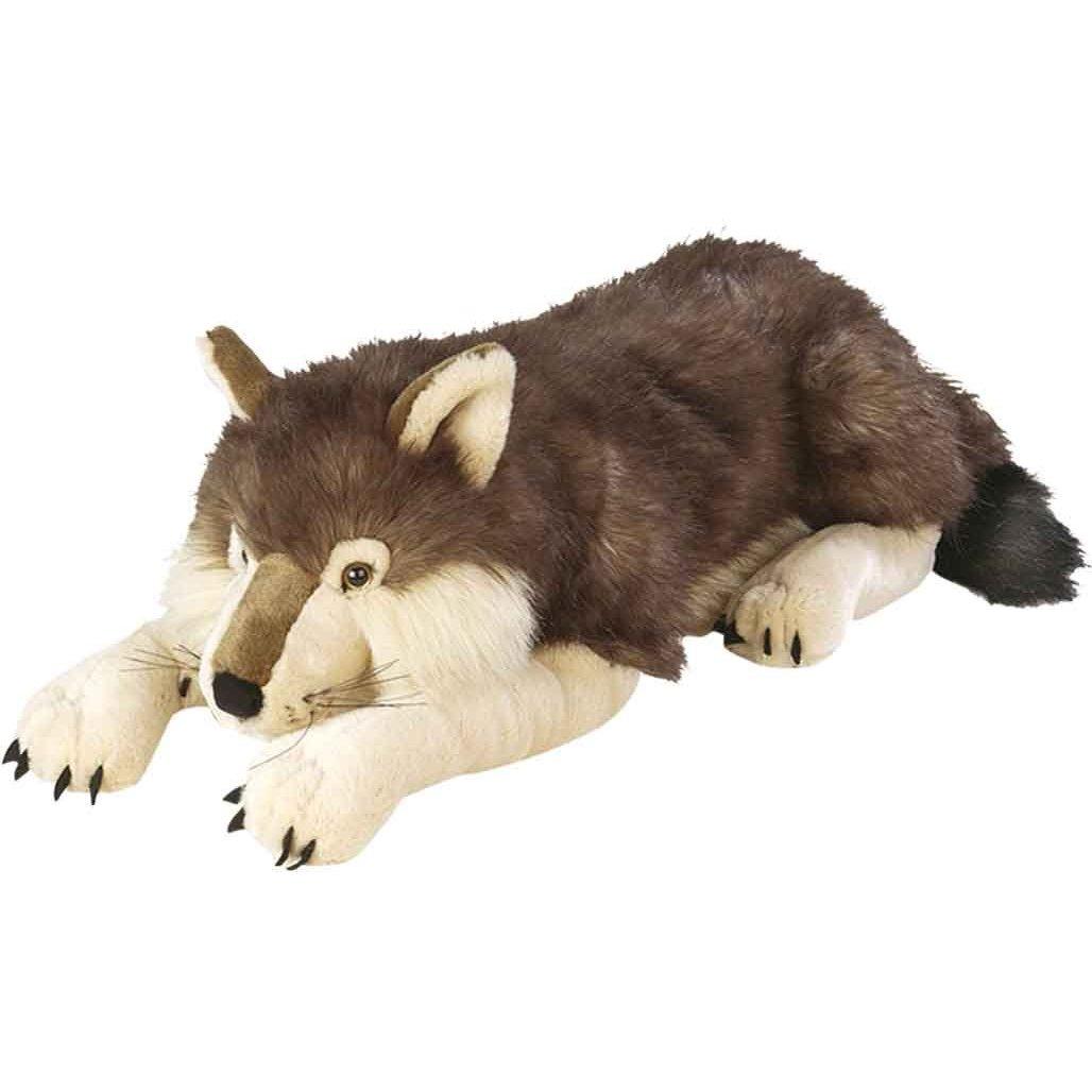 realistic fur fox lifelike wolf amp raccoon stuffed animal - HD1028×1028