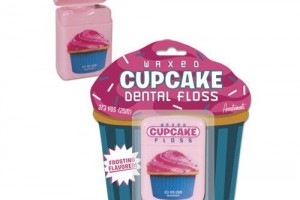 Cupcake Dental Floss