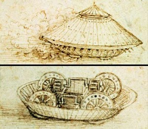 DaVinci Tank Drawing